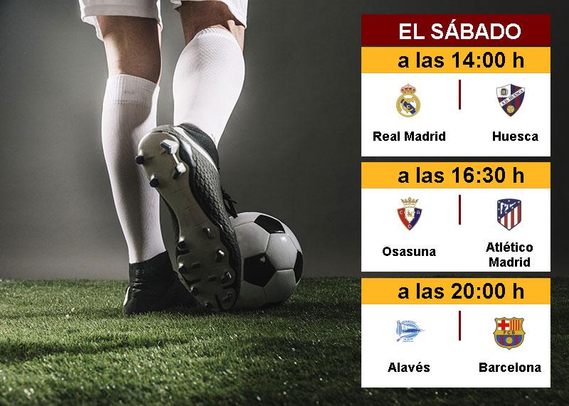 La Liga En Directo: Sábado 31